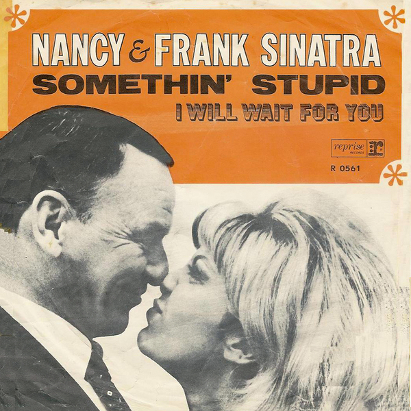 Sinatra, Nancy and Frank picture sleeve