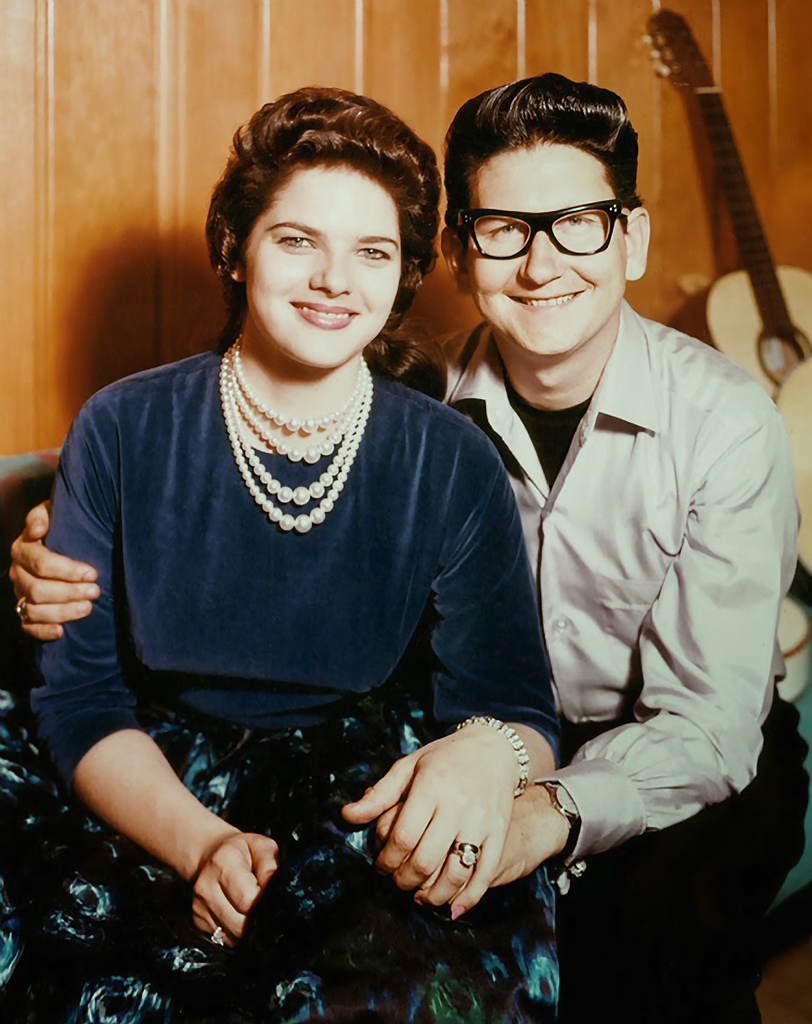 Orbison1966 Claudette and Roy